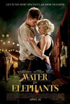 poster from the 20th Century Fox Film Water for Elephants