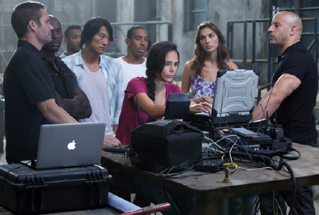 the team from the Universal Pictures film Fast Five