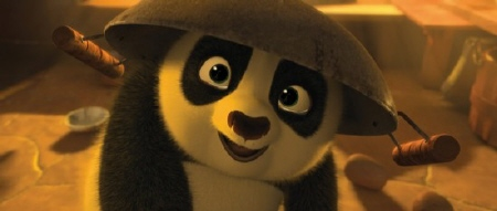 baby po from the Dreamworks Animation film Kung Fu Panda 2