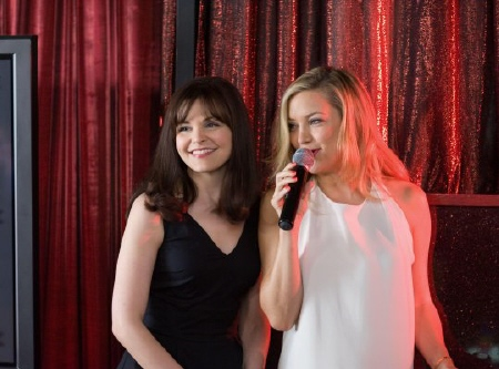 Rachel and Darcy from the Alcon Entertainment film Something Borrowed