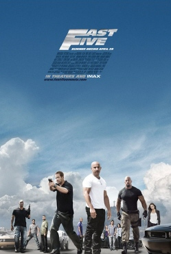 poster from the Universal Pictures film Fast Five