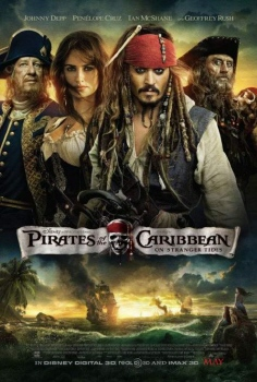 poster from the Walt Disney Pictures film Pirates of the Caribbean On Stranger Tides