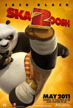 poster from the Dreamworks Animation film Kung Fu Panda 2