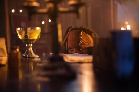 Jack stealing a chalice from the Walt Disney Pictures film Pirates of the Caribbean On Stranger Tides