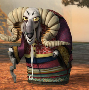 the soothsayer from the Dreamworks Animation film Kung Fu Panda 2