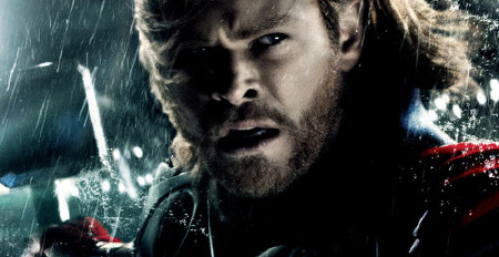 Thor fighting from the Paramount Pictures film Thor