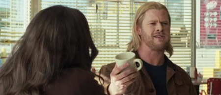 Thor orders coffee from the Paramount Pictures film Thor