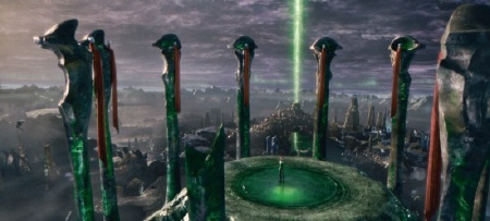 Green Lantern HQ on Oa from the Warner Bros. Pictures film Green Lantern