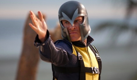 Magento with helmet from the Marvel Studios film X-Men: First Class