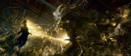 Parallax the fear monster from the Warner Bros. Pictures film Green Lantern