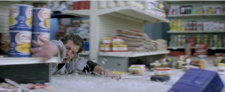 attack at the gas station from the Paramount Pictures film Super 8