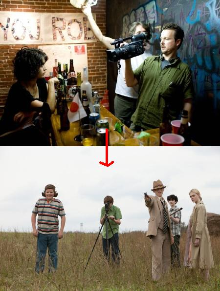 JJ Abrams and his self homage: Cloverfield vs Super 8