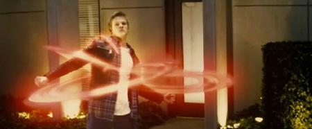 Havok hula hoops of destruction from the Marvel Studios film X-Men: First Class