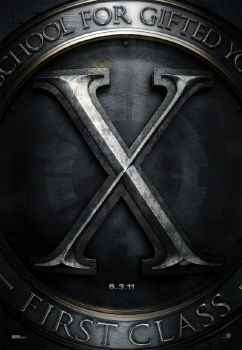 poster from the Marvel Studios film X-Men: First Class
