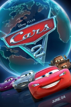 poster from the Disney Pixar film Cars 2