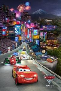 world grand prix from the Disney Pixar film Cars 2