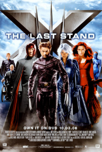 poster for x-men the last stand