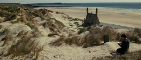 Harry buries Dobby from the Warner Bros. Pictures film Harry Potter and the Deathly Hallows Part 2