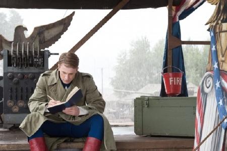 Steve writes in his diary from the Marvel Studios film Captain America the First Avenger