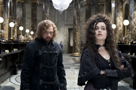 Fake Bellatrix at Gringotts from the Warner Bros. Pictures film Harry Potter and the Deathly Hallows Part 2