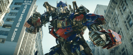 Optimus Prime from the Paramount Pictures film Transformers Dark of the Moon