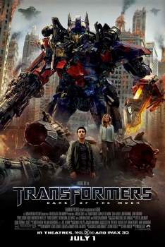 poster from the Paramount Pictures film Transformers Dark of the Moon
