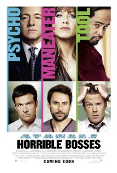 poster from the Warner Bros Pictures film Horrible Bosses