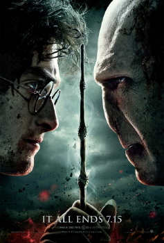 poster from the Warner Bros. Pictures film Harry Potter and the Deathly Hallows Part 2
