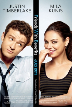 poster from the Castle Rock Entertainment film Friends With Benefits