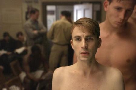 skinny Steve from the Marvel Studios film Captain America the First Avenger