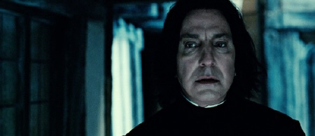 Snape from the Warner Bros. Pictures film Harry Potter and the Deathly Hallows Part 2