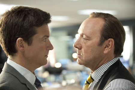 Jason Bateman and Kevin Spacey from the Warner Bros Pictures film Horrible Bosses