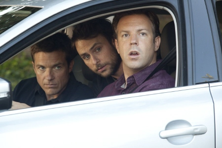the boys do surveillance from the Warner Bros Pictures film Horrible Bosses