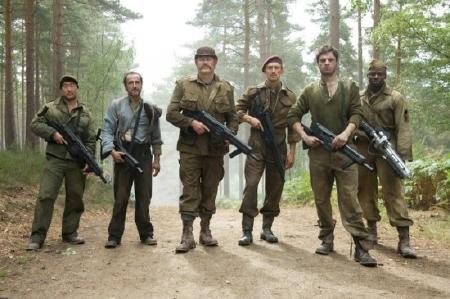 Captain Americas backup team from the Marvel Studios film Captain America the First Avenger