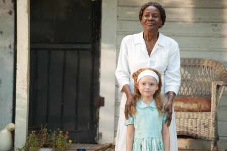 Young Skeeter and Constantine from the Dreamworks Pictures film The Help