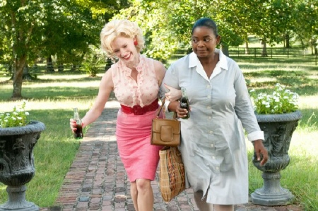 Celia and Minny from the Dreamworks Pictures film The Help