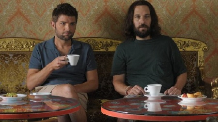 Jeremy and Ned from the movie Our Idiot Brother