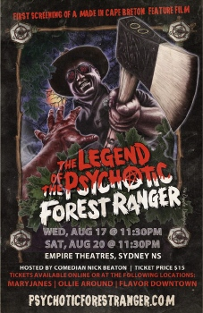 poster from the movie Legend of the Psychotic Forest Ranger