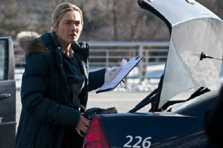 Kate Winslet from the Warner Bros. Pictures film Contagion