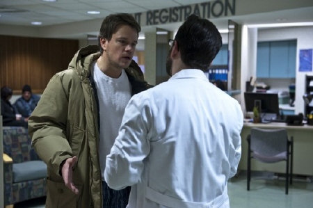 Matt Damon from the Warner Bros. Pictures film Contagion