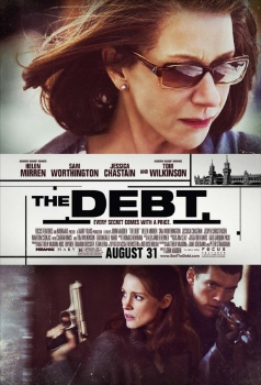 poster from the Miramax Films movie The Debt