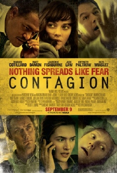 poster from the Warner Bros. Pictures film Contagion
