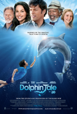 poster from the Warner Bros. Pictures film Dolphin Tale