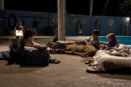 Clay, Hazel, and Sawyer have a sleepover from the Warner Bros. Pictures film Dolphin Tale