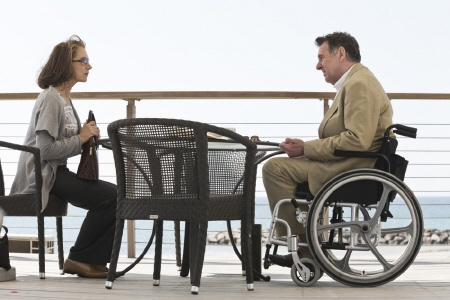 Rachel meets with Stephan from the Miramax Films movie The Debt