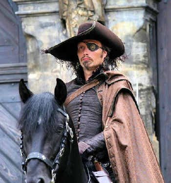Mads Mikkelsen as Rochefort from the Constantin Film Three Musketeers 2011