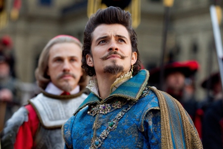 Orlando Bloom as the Duke of Buckingham from the Constantin Film Three Musketeers 2011