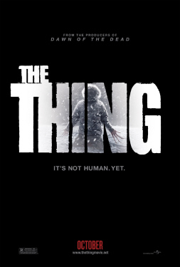 poster from the Universal Pictures film The Thing 2011