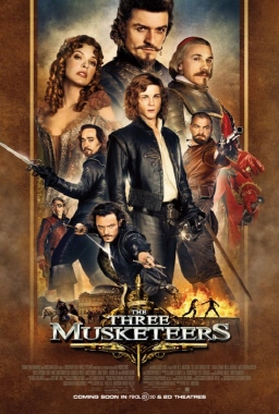 poster from the Constantin Film Three Musketeers 2011