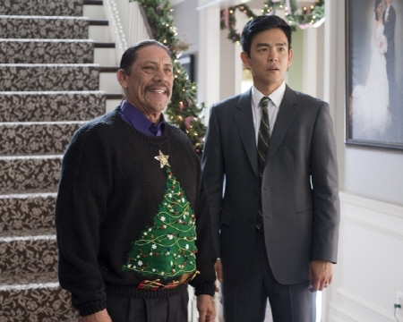 Danny Trejo and John Cho from the Warner Bros Pictures film a Very Harold and Kumar 3D Christmas